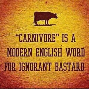 englischer Spruch-Carnivore_n