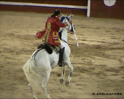 Matador mit Pferd-Portugal2