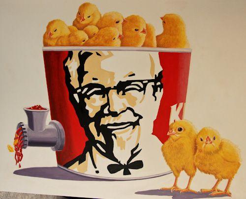 KFC chicks