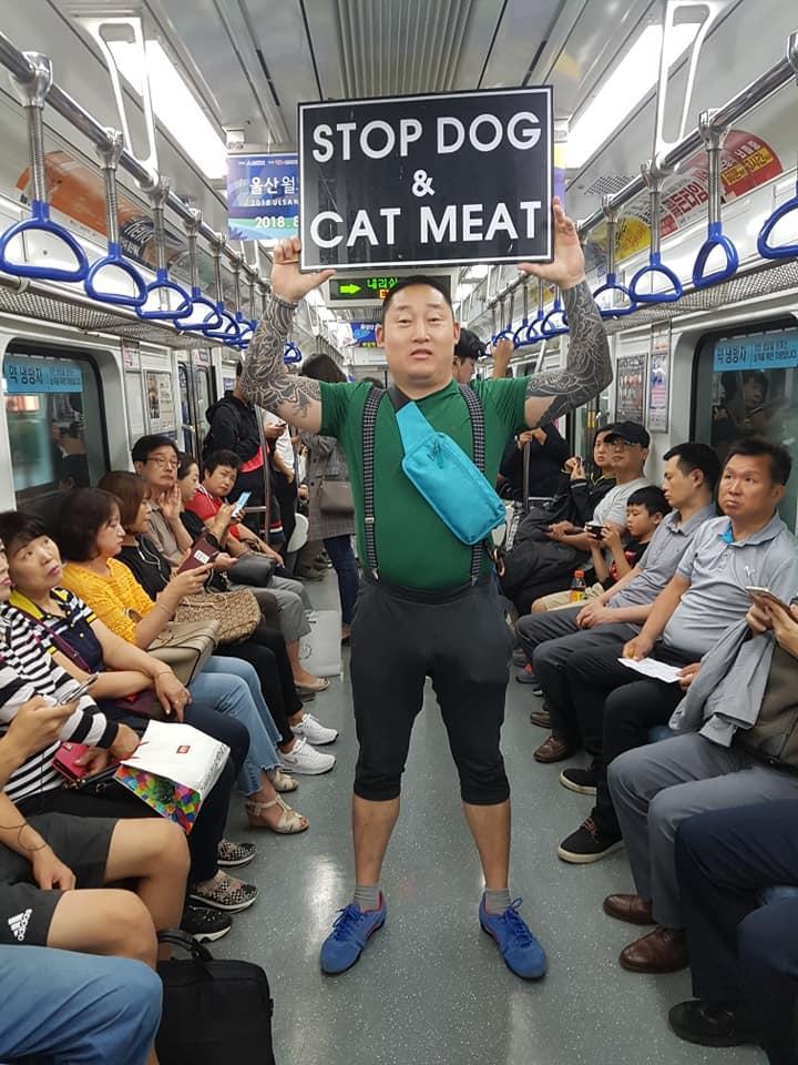 Koreaner Aktivistn