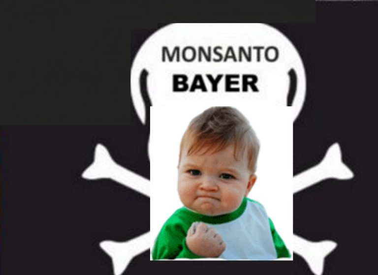 Bayer-Monsanto Karikatur 3