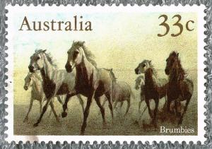 Briefmarke mit Brumiespeg