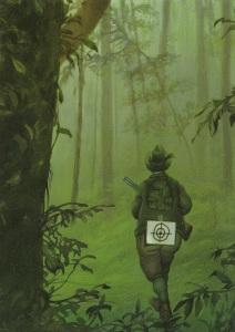 hunter unter Zielscheibe