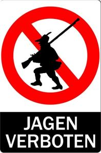 Jagen verbotenjpg