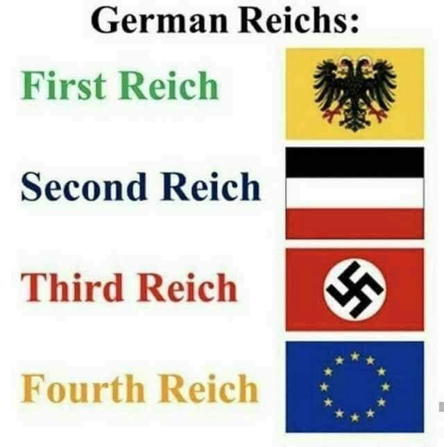 First reich-second reich karikaturjpg
