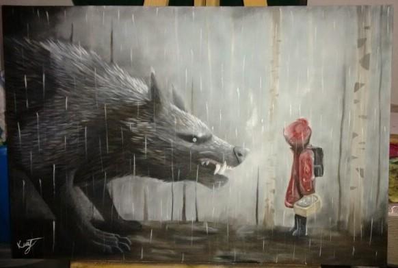 böser Wolf Bild jpg