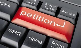 petition keyboard