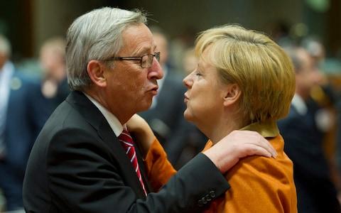 Juncker und Merkelg