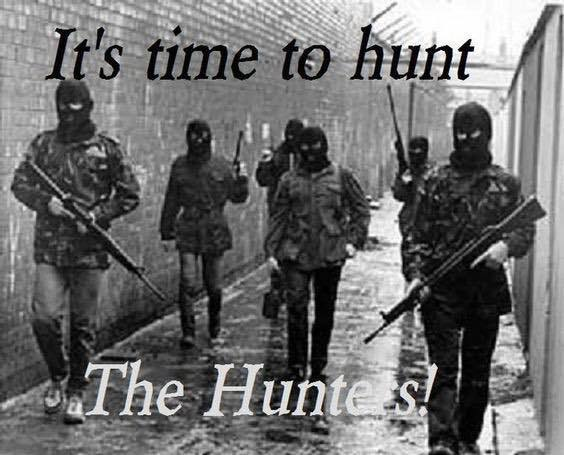 it is time to hunt the huntersn