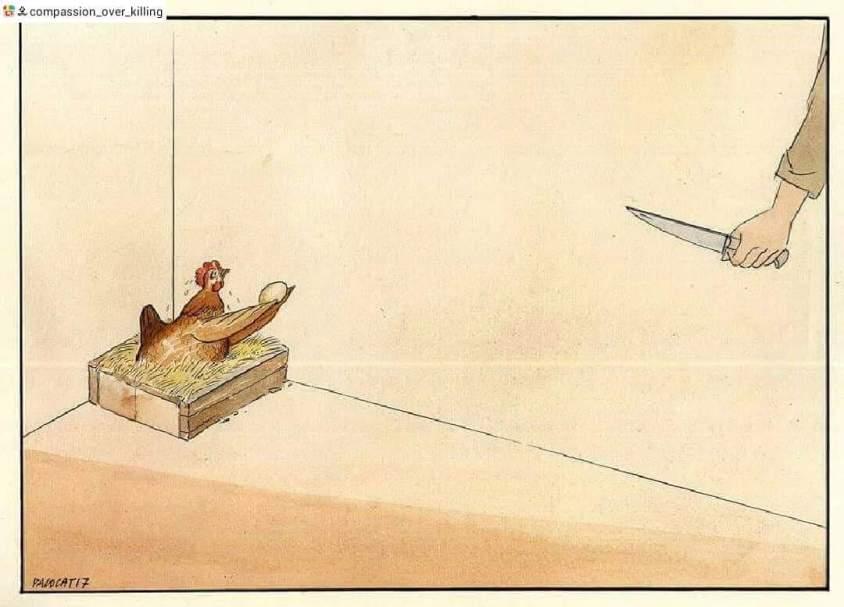Karikatur Ostereierpg