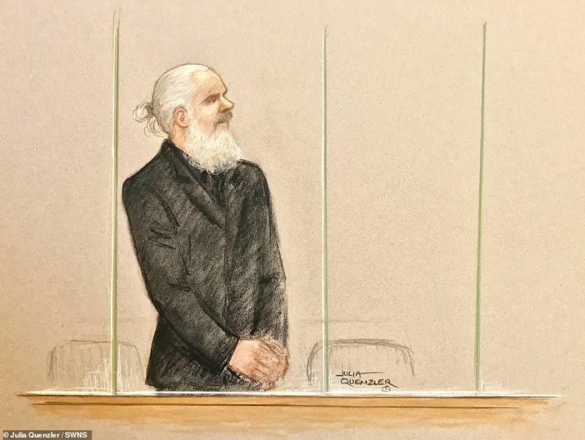 Zeichnung über Assange pg