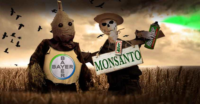 monsanto -Bayer karikatur