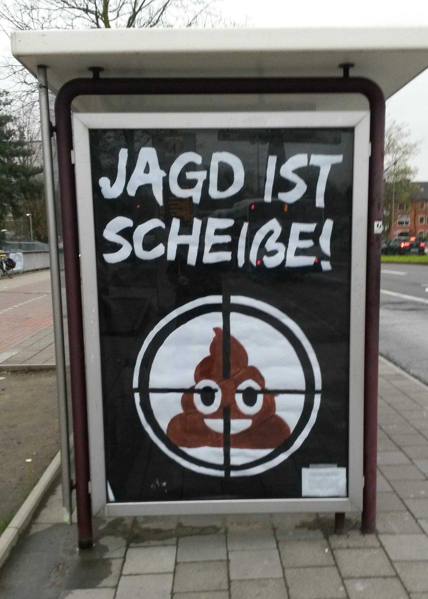 Jagd ist scheiße_Münster_III
