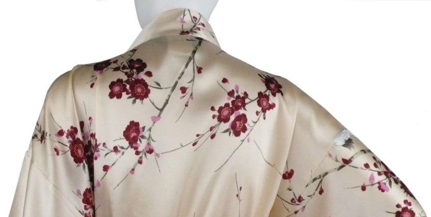 Kimono-Seide