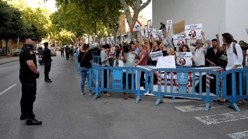 anti corrida Protest-stierkampfjpg