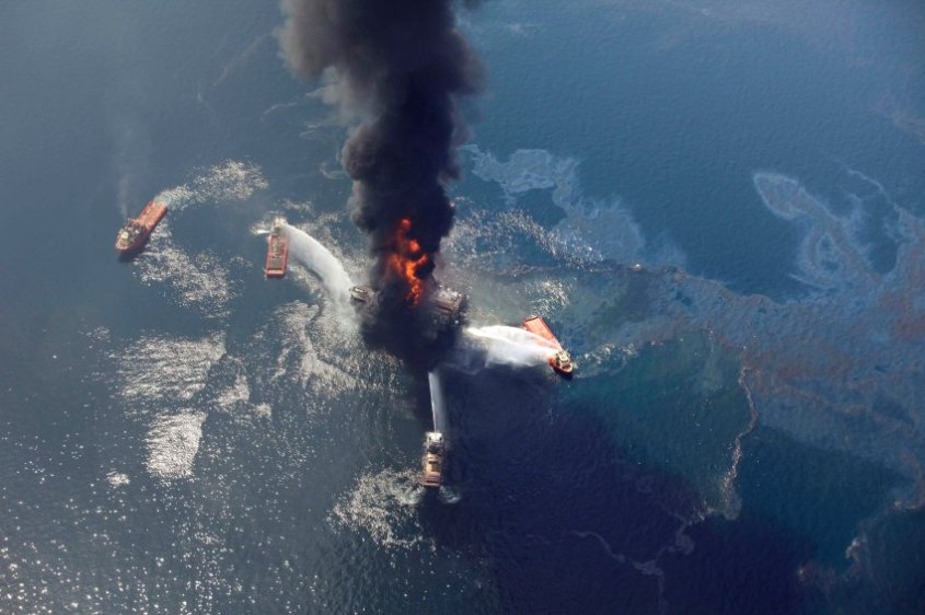 Louisiana Oil Rig Collapse