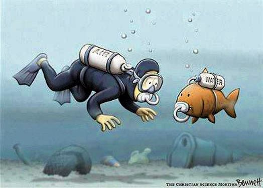 karikatur über Ozeanjpg
