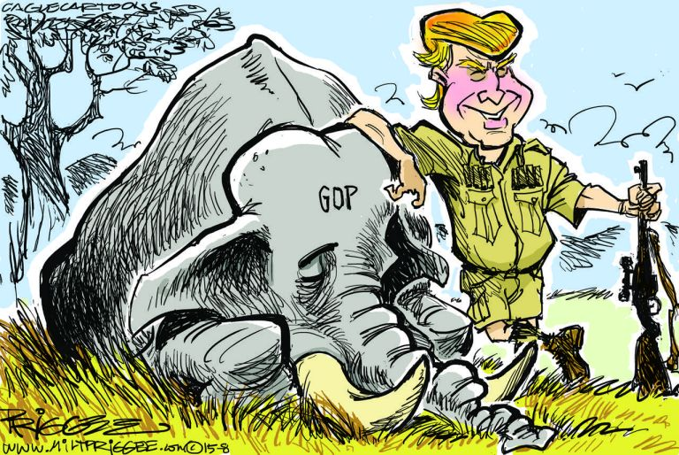 trump hunt cartoon1