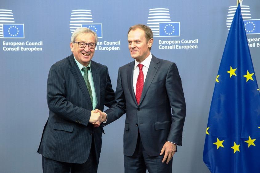 Donald Tusk & Jean-Claude Juncker