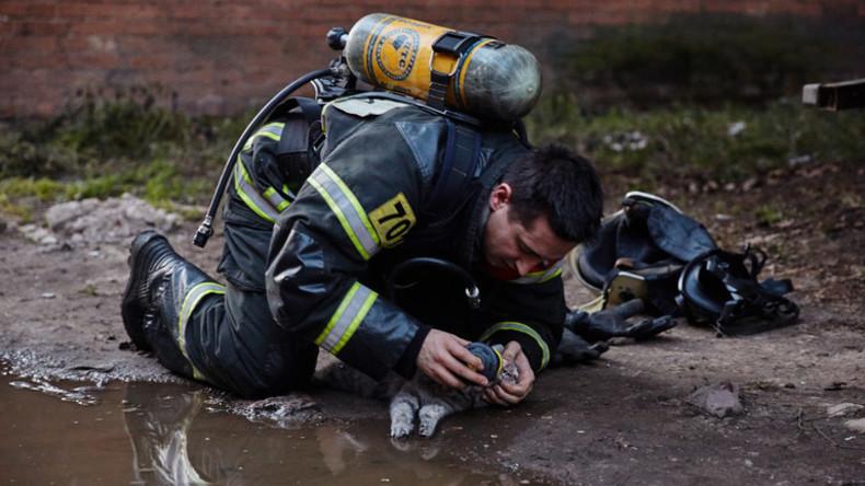 Feuerwehrmann Russlandpg