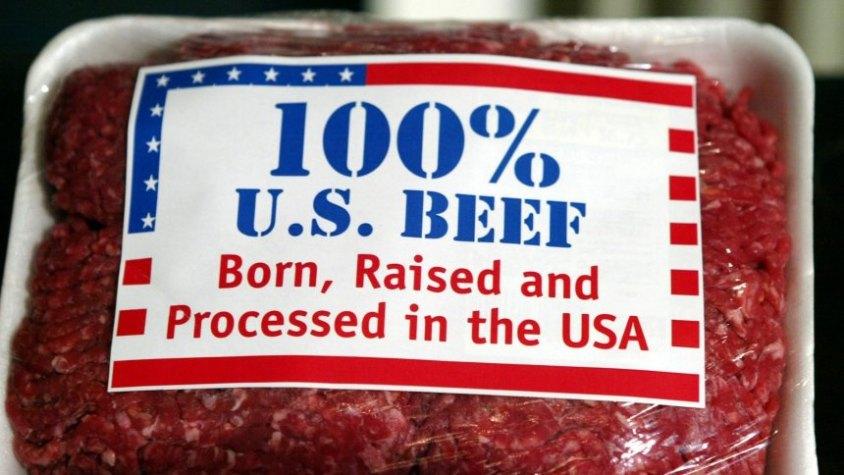 Rindfleisch Made in USA