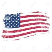 usa-flagge-im-grunge-stil-auf-einem-weißen-hintergrund