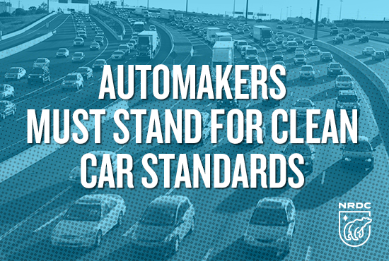 automakers stand clean
