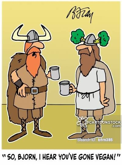 gone vegan vikings