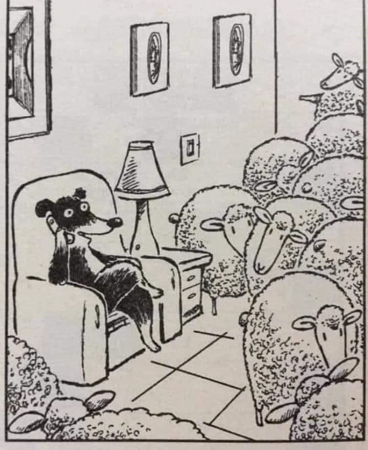 wolf karikaturpg