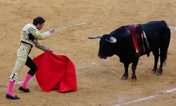 Finito de Córdoba ( + bull of Martín Lorca) - Málaga 18 August 2006