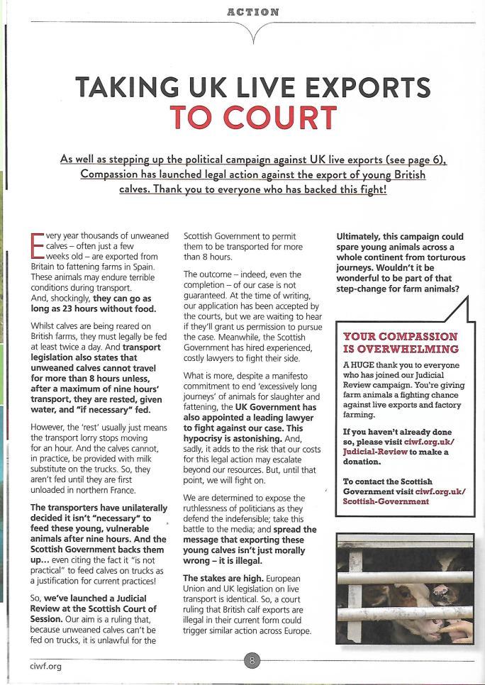 CIWF Calves court June