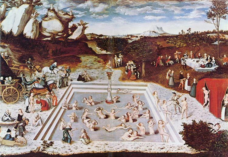the-fountain-of-youth-Lucas cranach arge